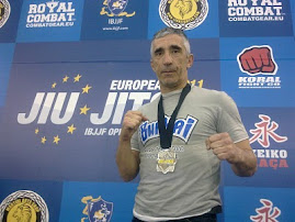Subcampeon de Europa de Brazilian Jiu Jitsu categoria senior, Lisboa 2011