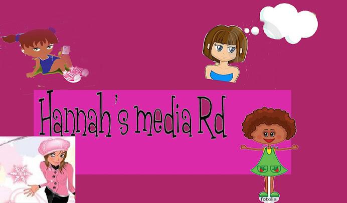 Hannah's media blog