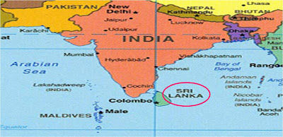 Social Studies In A Nutshell Chapter Introduction To - Where is sri lanka located