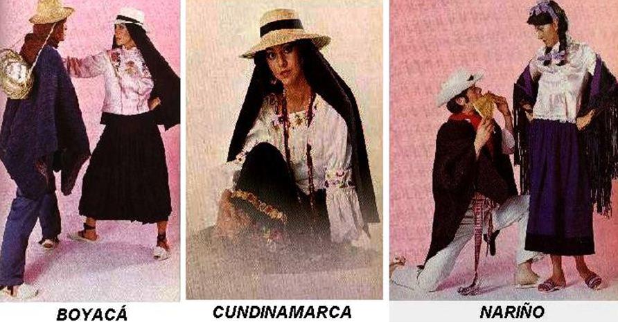 Trajes Tipicos De Colombia