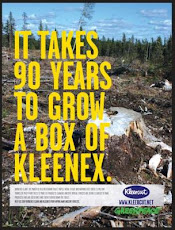 Clearcutting By Kleenex