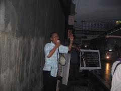 Street Preaching at Manila