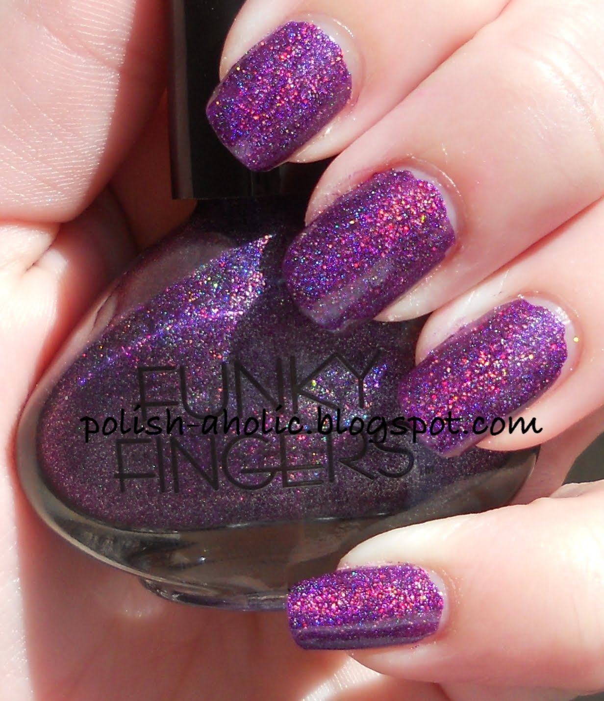 The PolishAholic: Funky Fingers Swatches!