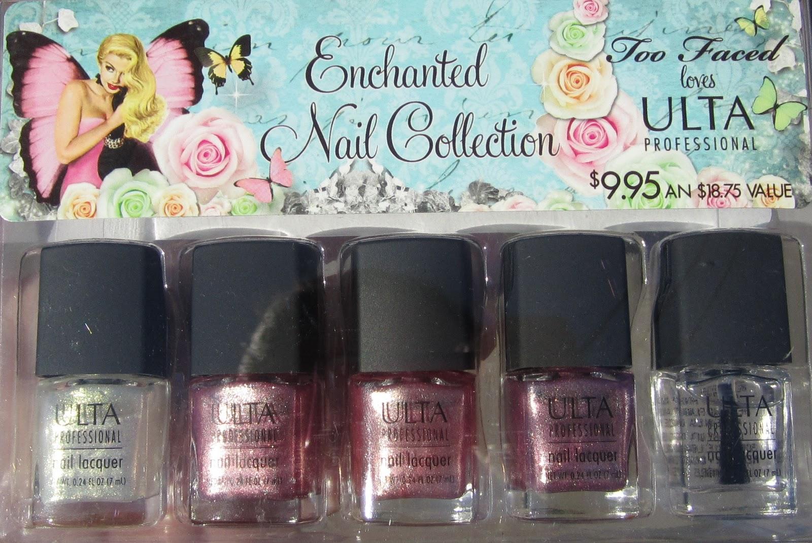 The PolishAholic: Ulta- Enchanted Nail Collection mini set