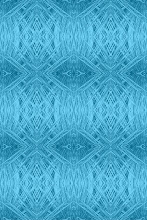 Blue Yucca Frond Pattern