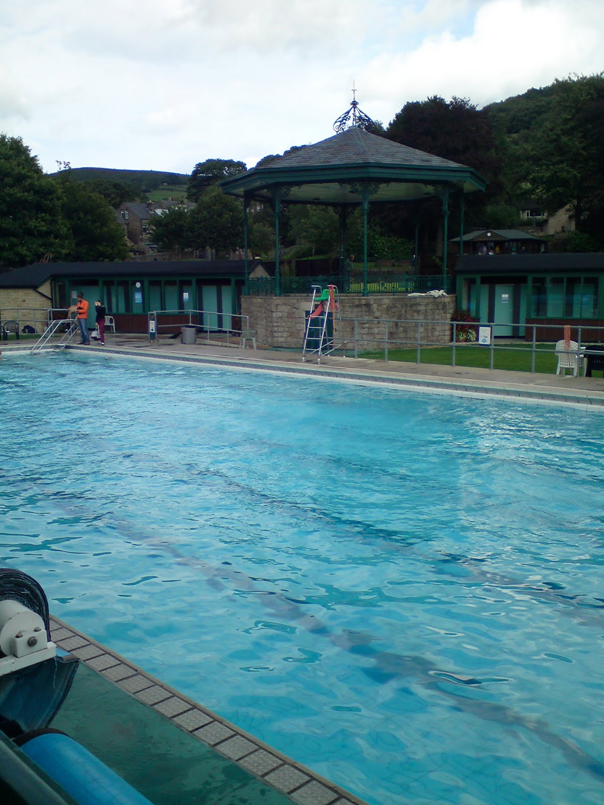 Swimming and writing august 2010 - Hathersage open air swimming pool ...