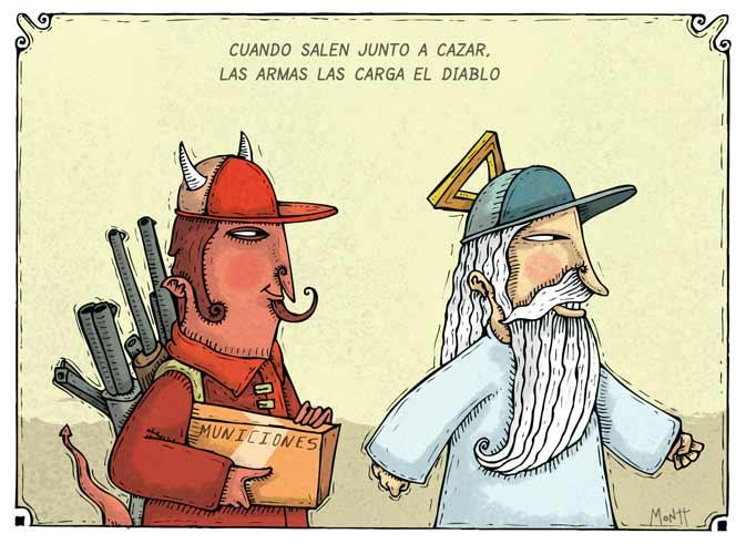 Humor gráfico sobre las religiones y dioses - Página 2 Las-armas