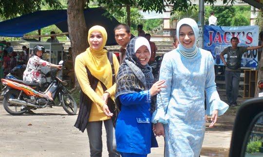 Istri Ahmad Zulfikar Fawzi (Ikang Fawzi) Calon Pemimpin di Lampung Selatan