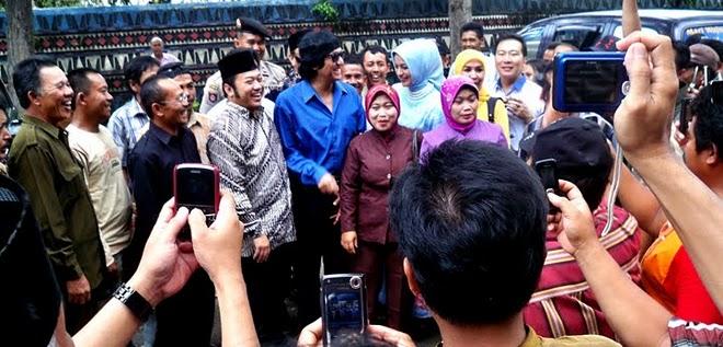 Pendampingan Marissa Haque untuk Pasangan Zainuddin Hasan & Ikang Fawzi