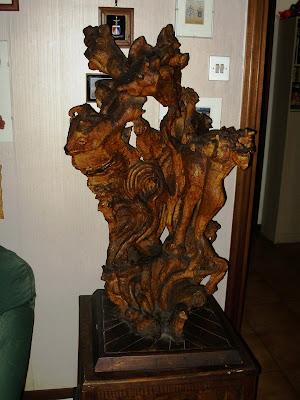 Sculture in legno di olivo &;menichelli odoardo&;