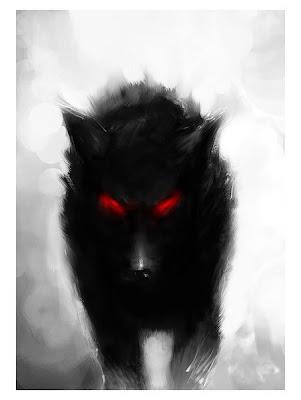 Amaterasu-verführerisch und geheimnissvoll und Kajin- eine dämonische versuchung Demon_wolf