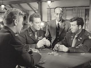 James R. Martin, Kenneth Tobey, Douglas Spenser, and Robert Nichols