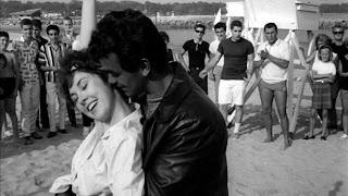 Marilyn Clarke and Biker