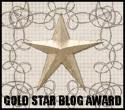 Gold Star Blog Award