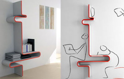 Unusually Brilliant Bookcase and Bookshelf Designs | Tech Know Bits