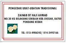 Pakar Perawatan Traditional - 0134906242