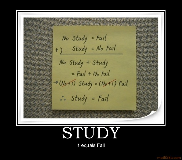 Fail Pictures Study-study-fail-demotivational-poster-1210595199