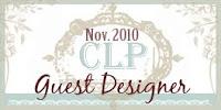 November 2010 CLP Guest Designer