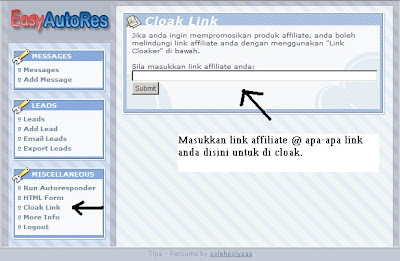 Link Cloak easyautores