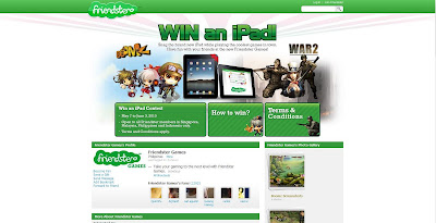 Win an iPad - Friendster Games