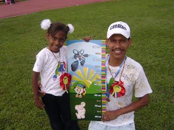 padre e hija Ganadores