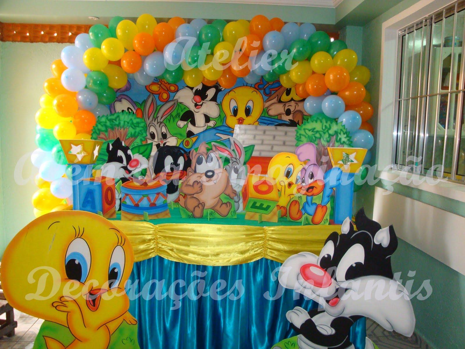 Decoração de Festa Looney Tunes