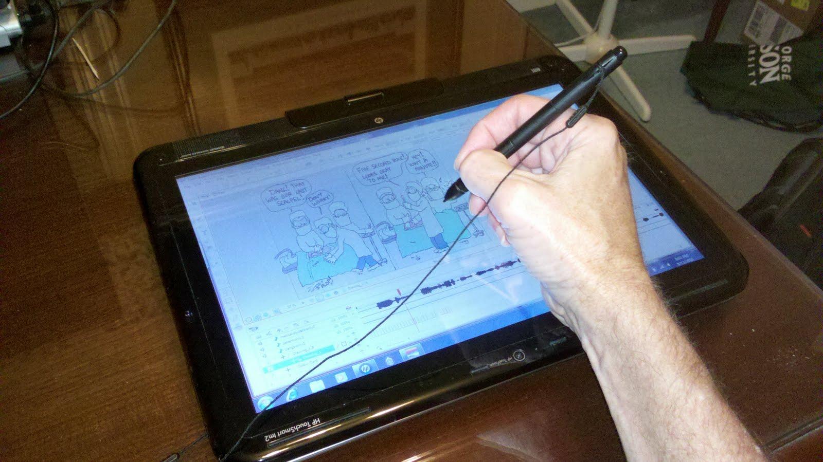 Cartoon Doctor - www.drmussey.com: Finally! A Tablet PC ...