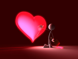 Wallpaper san valentin corazon emamorado