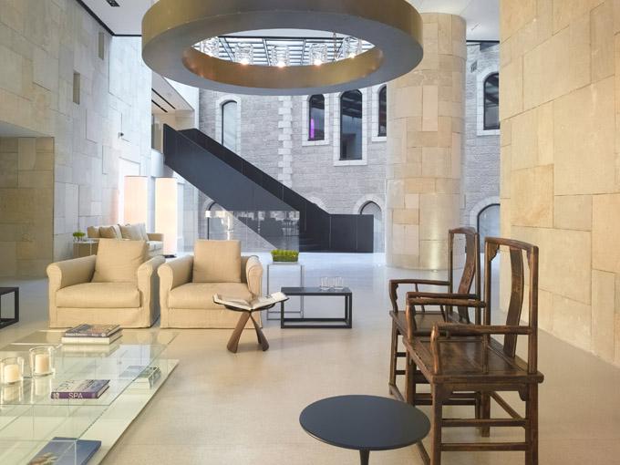 The world of interior design mamilla hotel jerusalem for Design hotel jerusalem