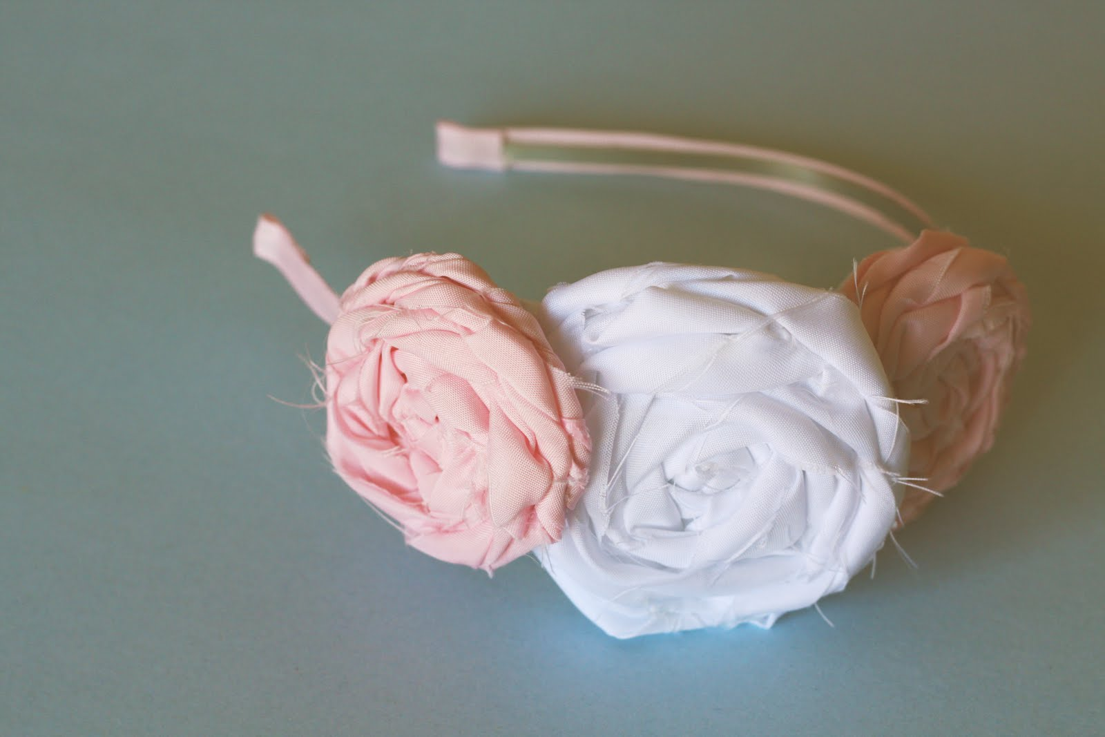 Ribbons and Much More Flower Headband by Lifethoughthelens