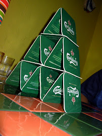 Beer Mat Pyramid