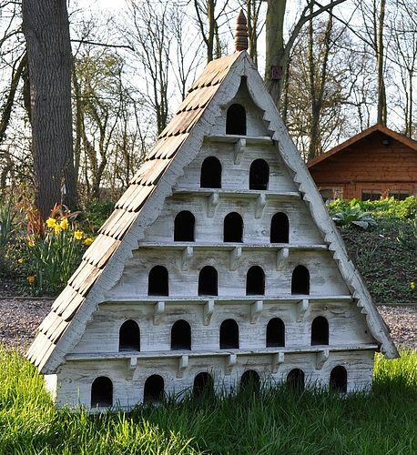 unbelievable bird house designs. These are amazing  Beautiful Birdhouses Winner FRENCH COUNTRY COTTAGE