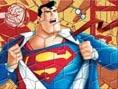 Süperman Yapboz Oyunu