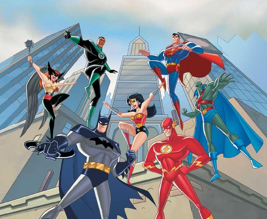 Süperman Dostları Yapbozu Oyunu