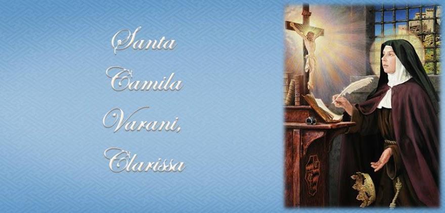 Santa Camila Varani, Clarissa