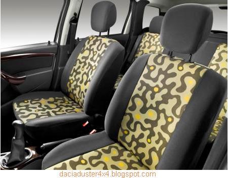 Fundas de asientos originales web dacia duster 4x4 for Fundas asientos 4x4