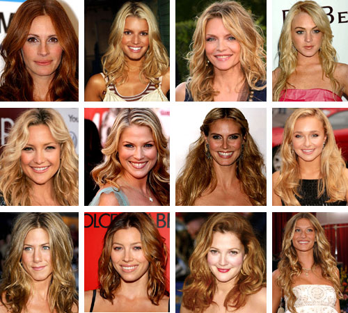 Picture of Hairstyles For Oval Faces And Thick Wavy Hair