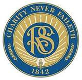 "Relief Society Seal and Motto: ""Charity Never Faileth"""