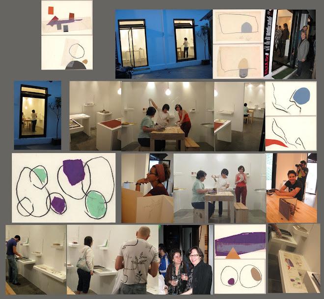 Exposição Coletiva - Impulso - Livros de Artista Galeria Emma Thomas 2008