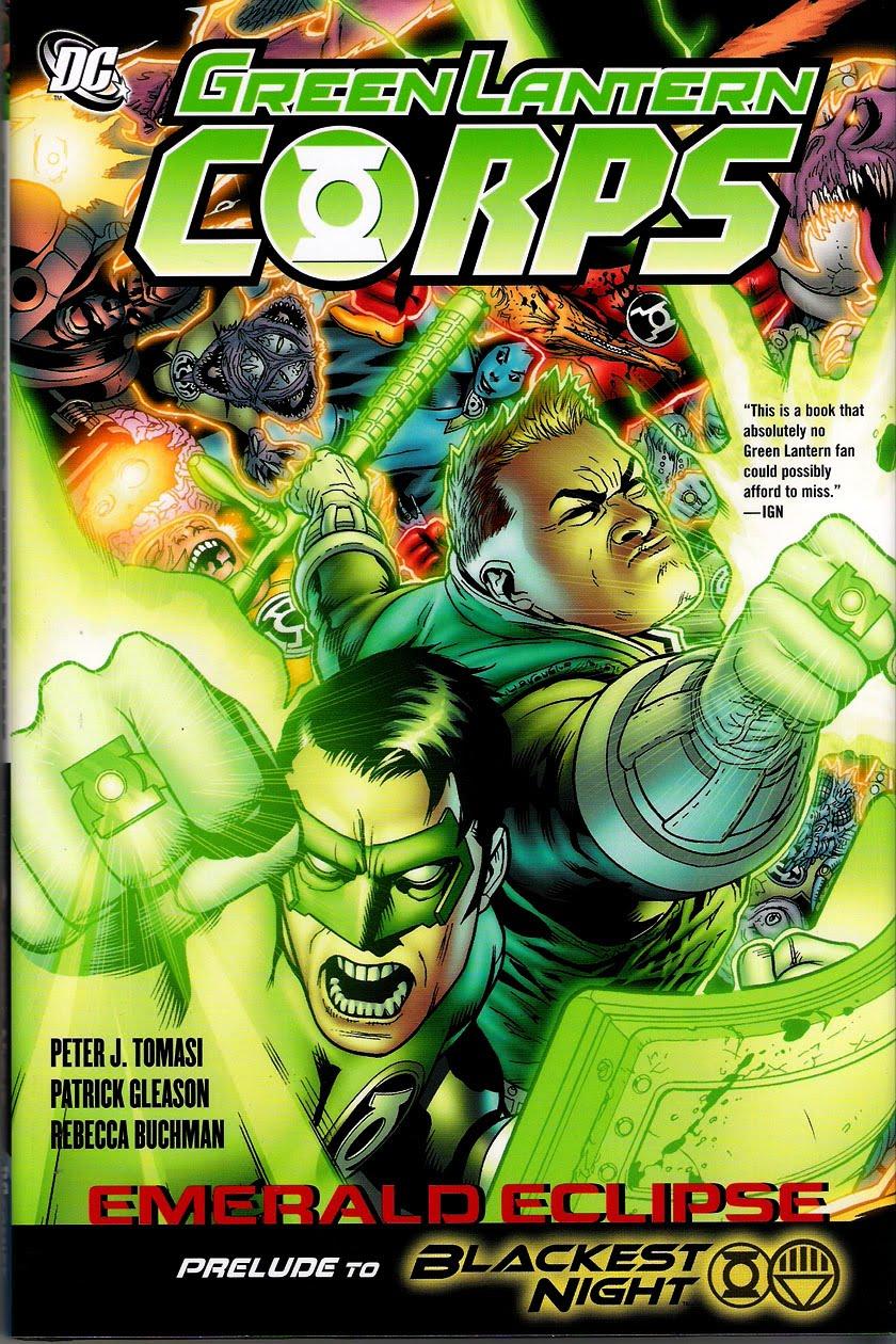 green lantern corps: