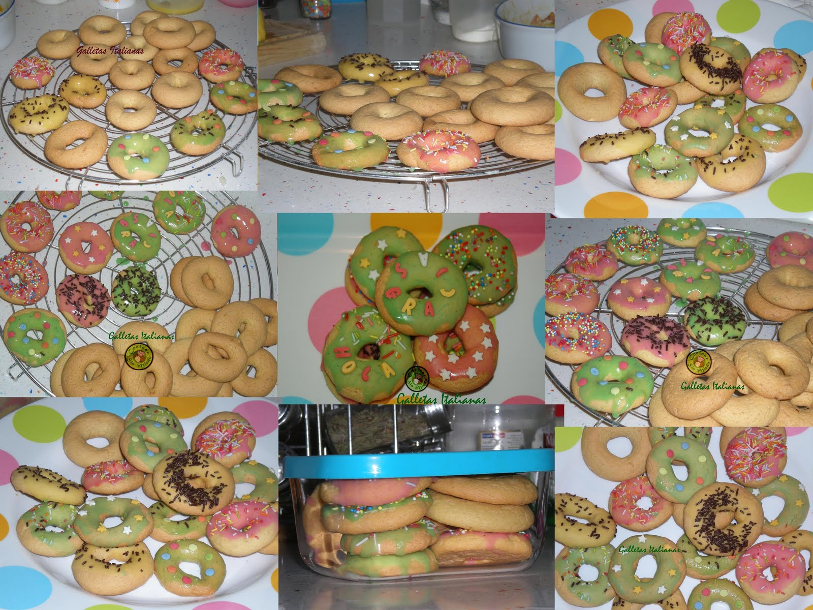 galletas italianas: