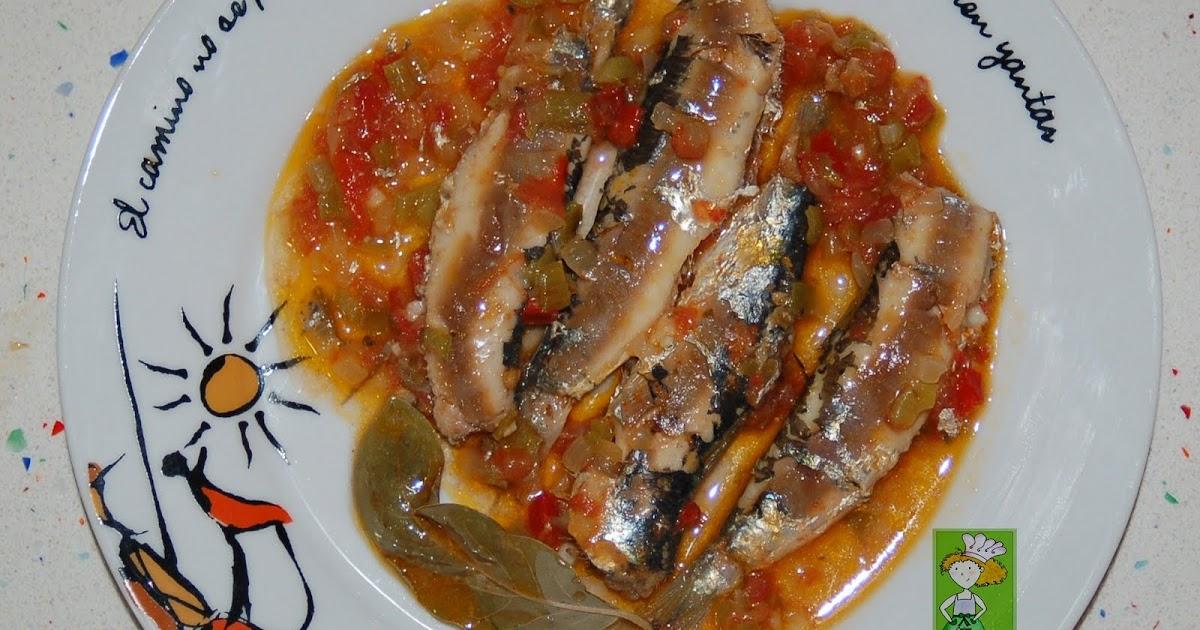 Cocinar sin miedo sardinas a la moruna - Como cocinar sardinas ...