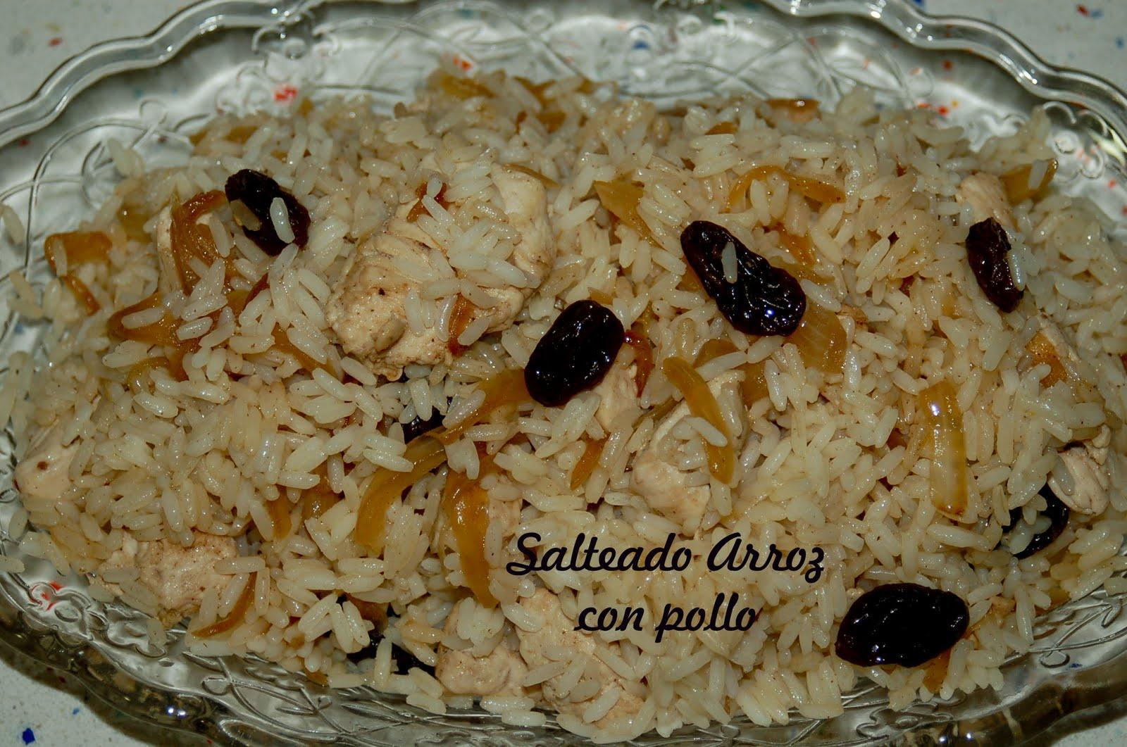 Cocinar sin miedo salteado de arroz con pollo - Arroz salteado con pollo ...