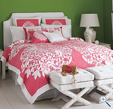Lilly Pulitzer Home Exclusively For Garnet Hill Down Comforter