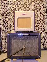 Fender Champion 600 with Ampeg Jet Alnico speaker response