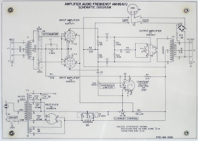 Federal Tube Limiter Schematic