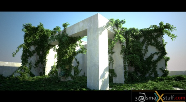 Ivy Generator V1.3 for 3dsMax ( Windows, Mac, Linux)