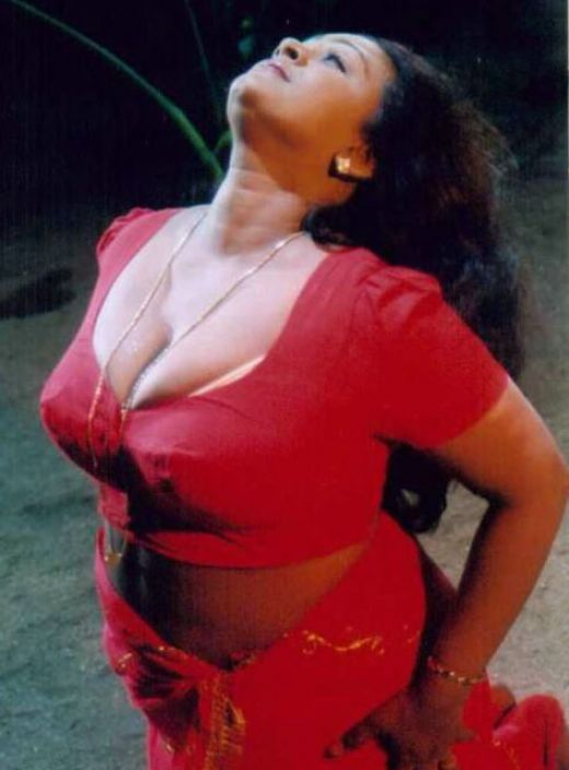 shakeela in red blouse with out saree