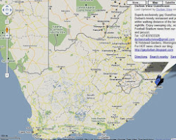 Find us in South Africa