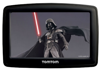 Darth Vader officially comes to TomTom